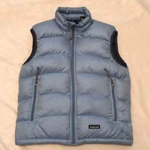 Woman's Patagonia down puffer vest